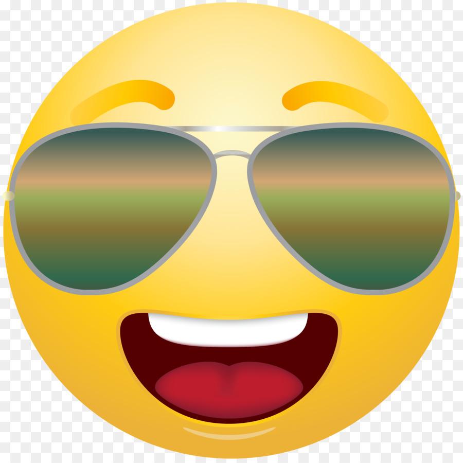 Descarga gratuita de Emoticon, Smiley, Gafas Imágen de Png