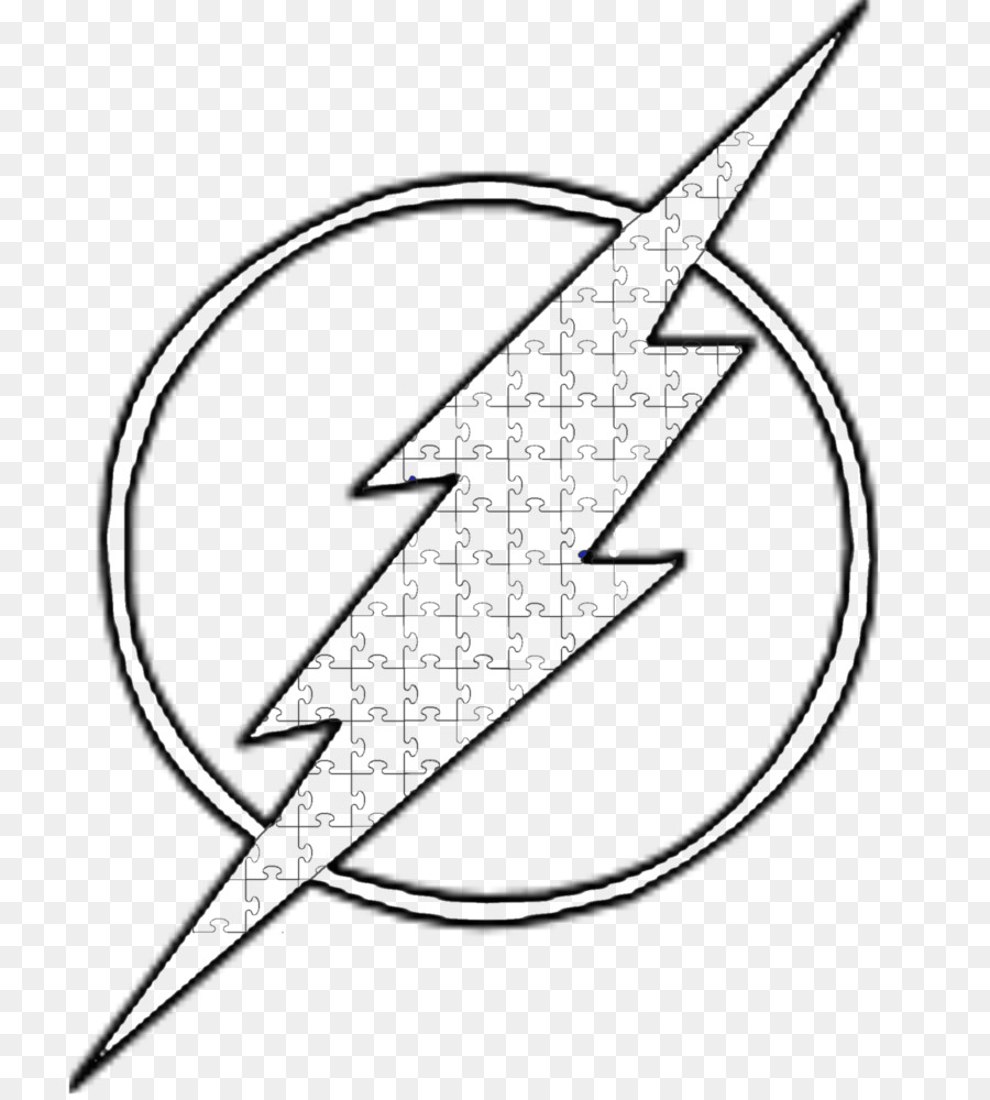 Arte De Línea Eobard Thawne Flash Imagen Png Imagen