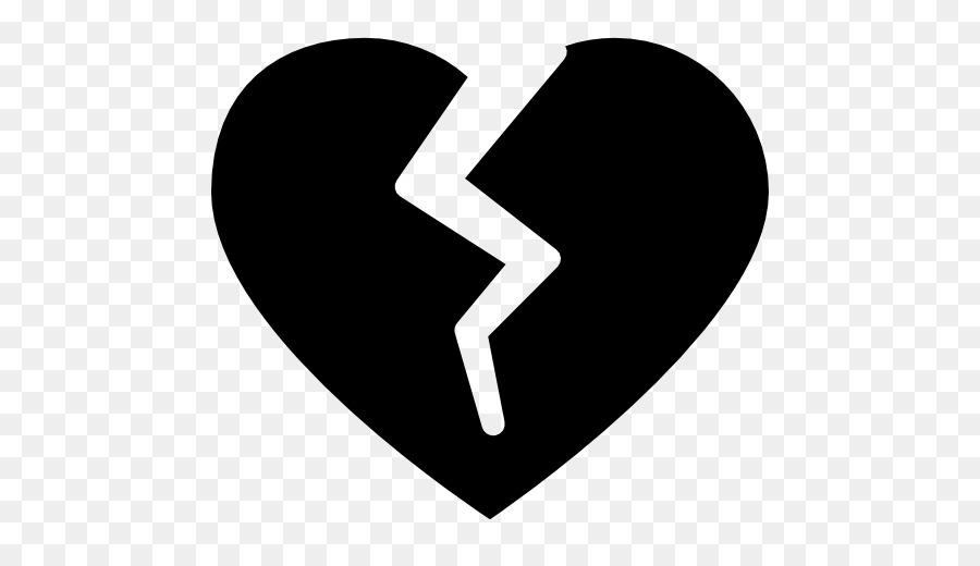 Descarga gratuita de Corazón Roto, Corazón, Silueta Imágen de Png