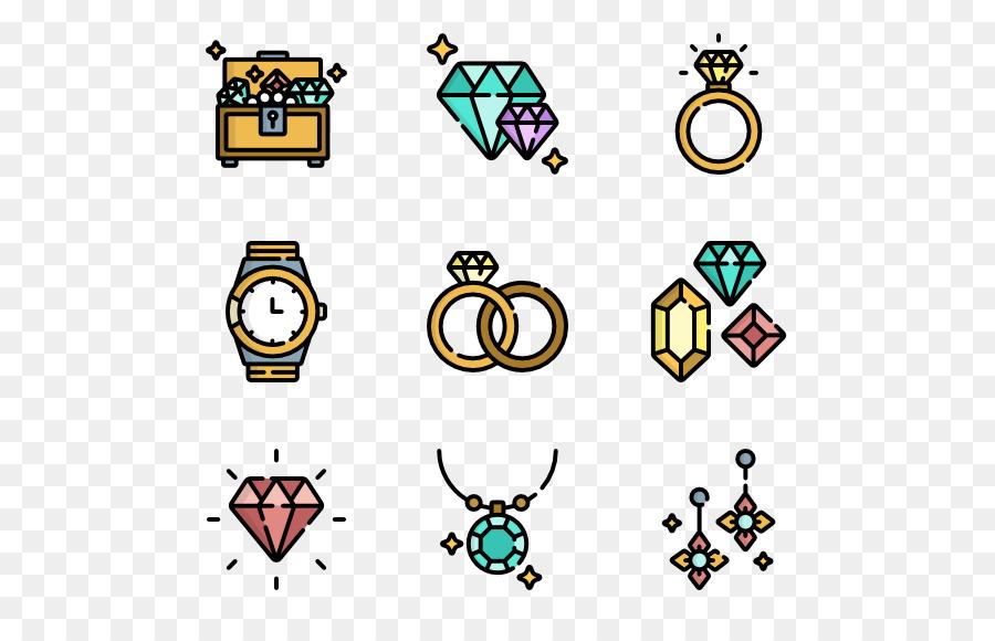 Equipo De Iconos De Mapa De Imagen: Iconos De Equipo, Joyería, De Piedras Preciosas Imagen