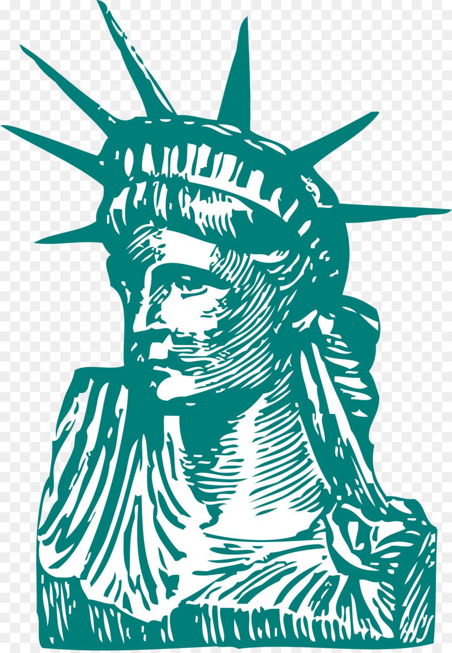 Descarga gratuita de Estatua De La Libertad, Dibujo, De Dibujos Animados imágenes PNG