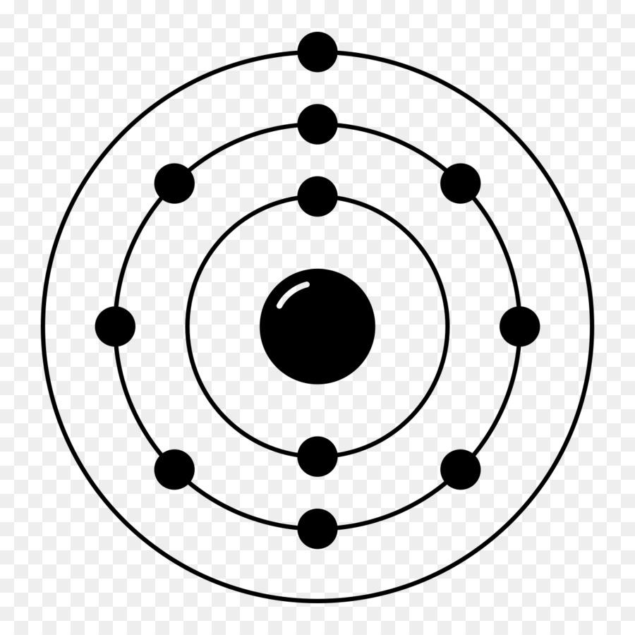 Descarga gratuita de Neon, La Configuración Electrónica, Modelo De Bohr Imágen de Png