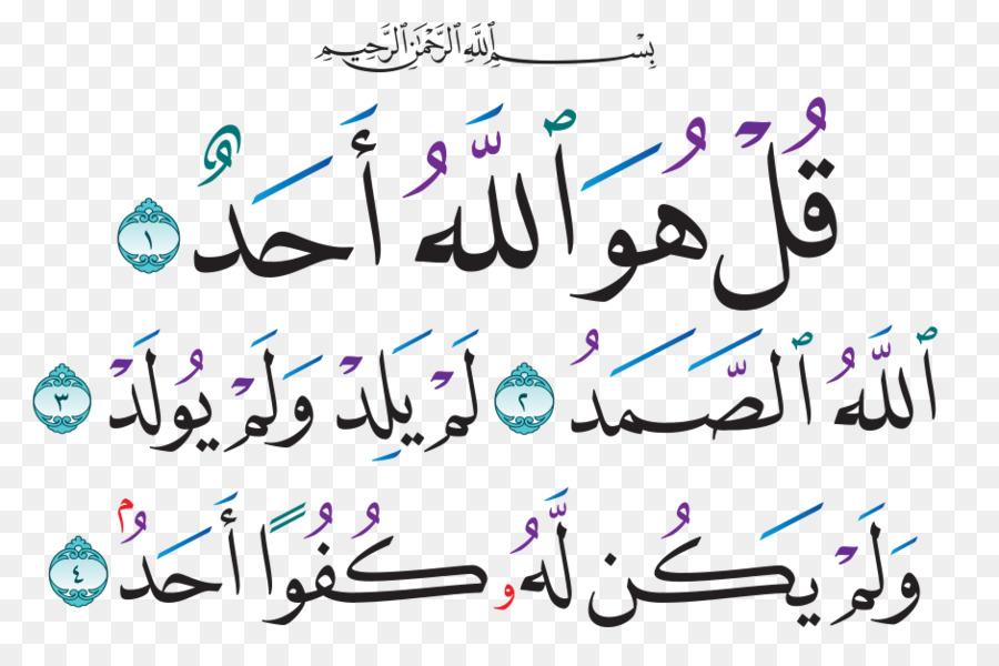 Descarga gratuita de Corán, Sura, La Sinceridad imágenes PNG