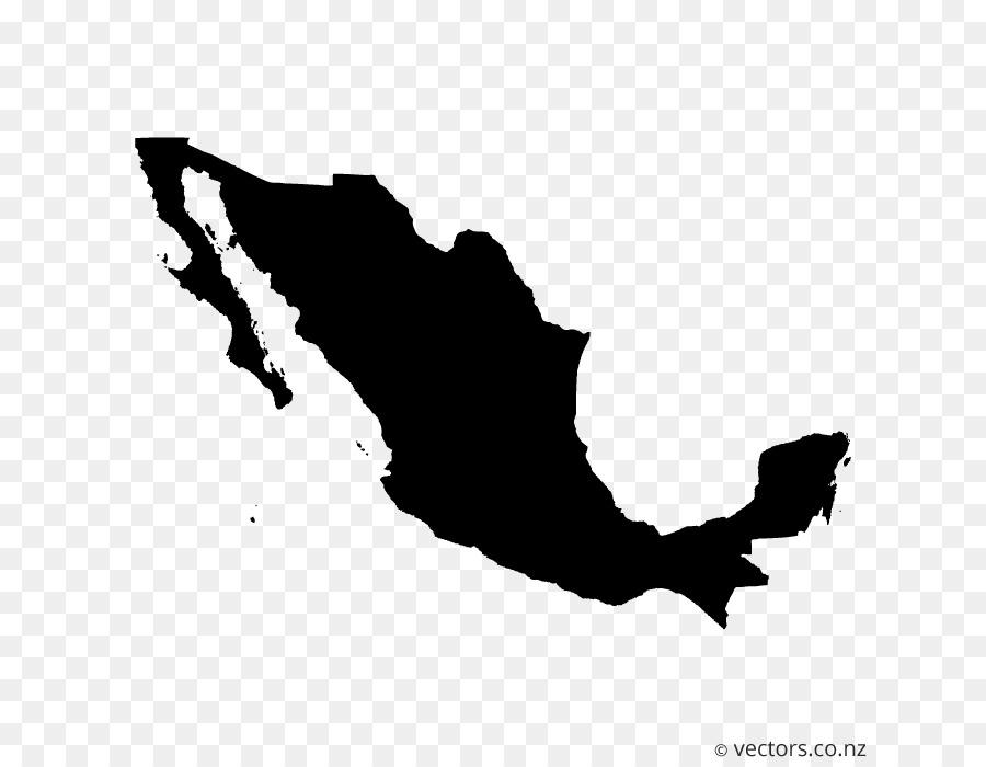 Descarga gratuita de México, Mapa Del Vector, Mapa imágenes PNG