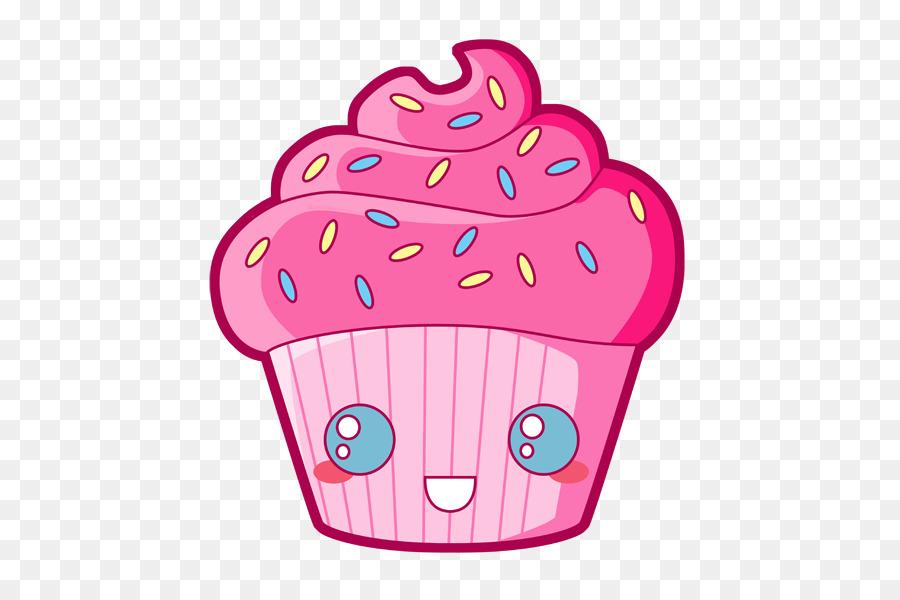 Cupcakes Animados De Cumpleaños Png