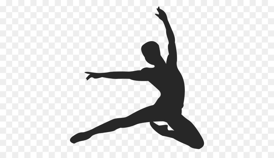 Descarga gratuita de La Danza Moderna, Silueta, Bailarina De Ballet imágenes PNG