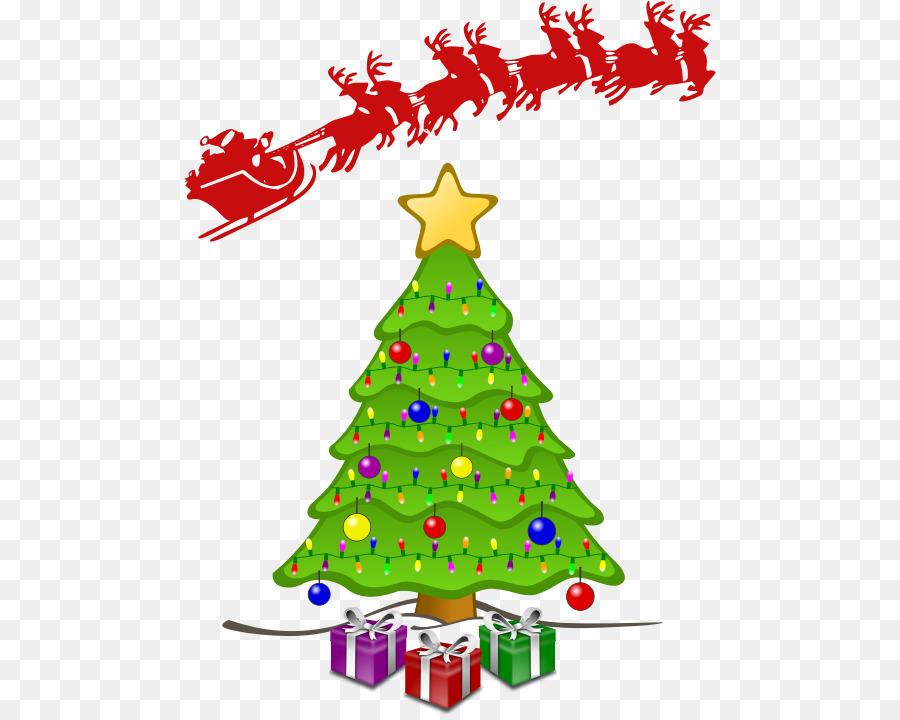 Descarga gratuita de árbol De Navidad, La Navidad, Animación imágenes PNG
