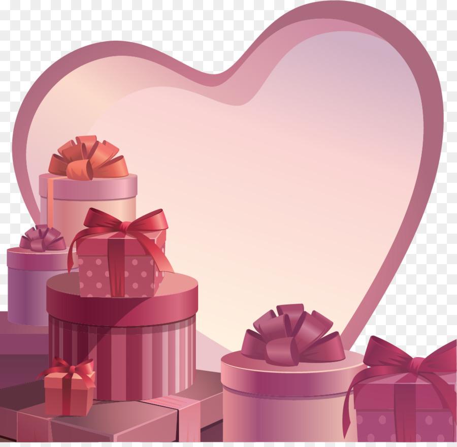 Descarga gratuita de Papel, El Día De San Valentín, Regalo imágenes PNG
