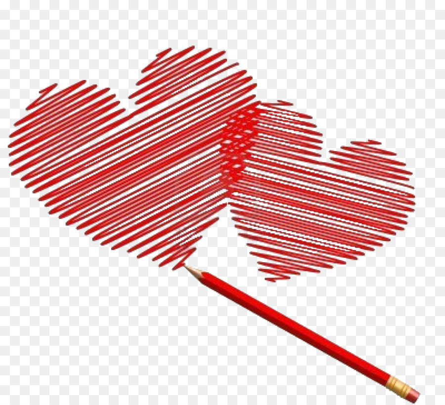 Descarga gratuita de Dibujo, Corazón, Lápiz imágenes PNG