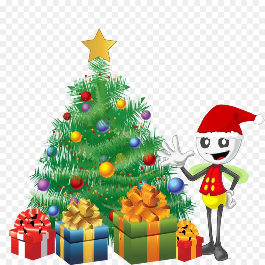 Descarga gratuita de árbol De Navidad, La Navidad, Regalo imágenes PNG