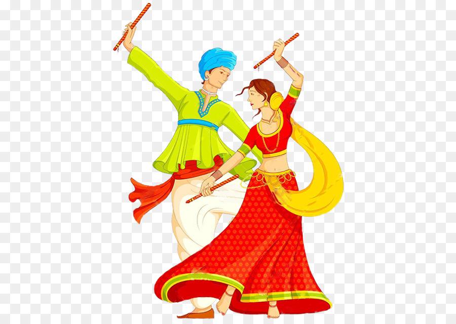 Descarga gratuita de Garba, Dandiya Raas, La Danza Imágen de Png