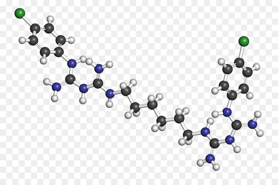 Descarga gratuita de Una Fotografía De Stock, La Molécula De, La Clorhexidina Imágen de Png
