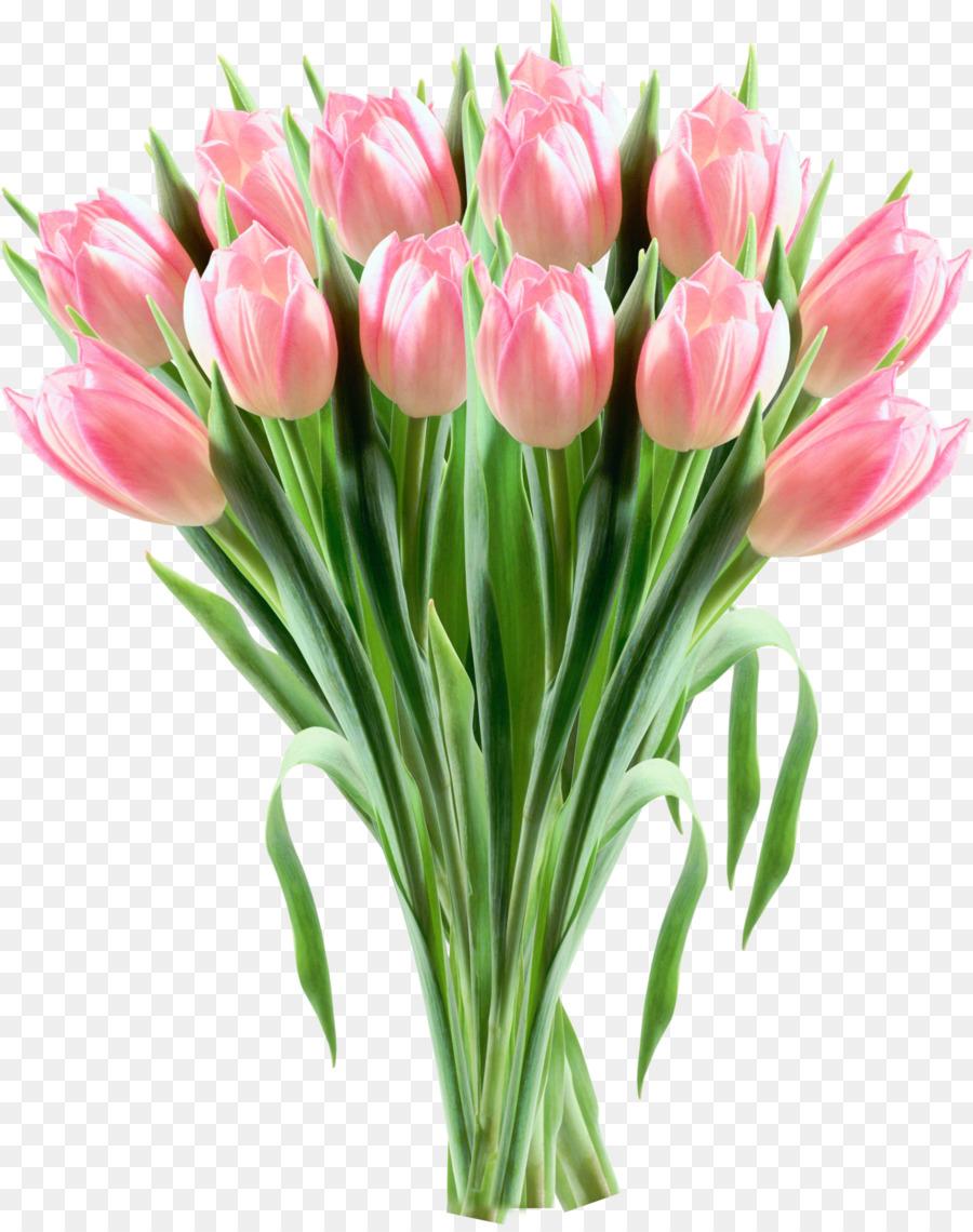 Descarga gratuita de Tulip, Flor, Flores De Color Rosa Imágen de Png