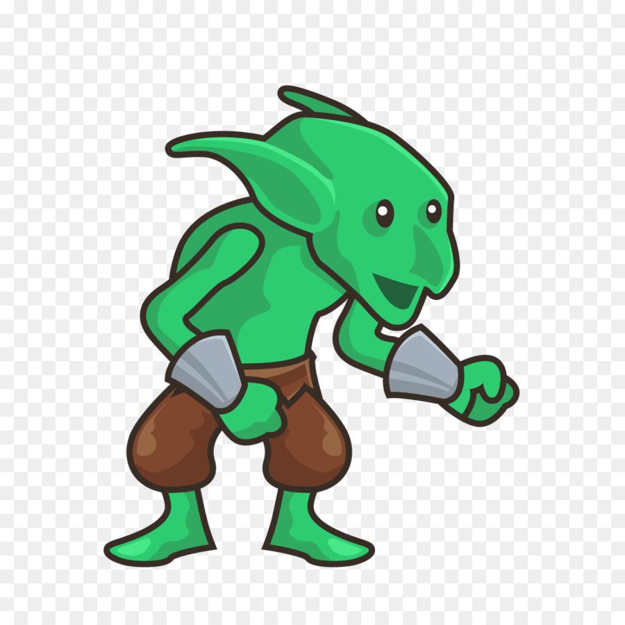 Descarga gratuita de Goblin, Duende Verde, Sprite Imágen de Png