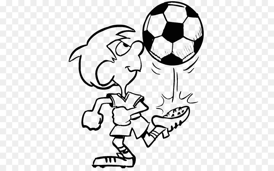 Libro Para Colorear Fútbol Jugador De Fútbol Imagen Png