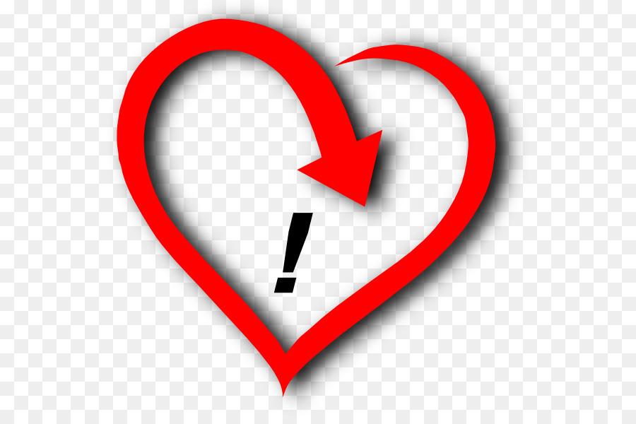 Descarga gratuita de Corazón, El Amor, Signo De Exclamación Imágen de Png