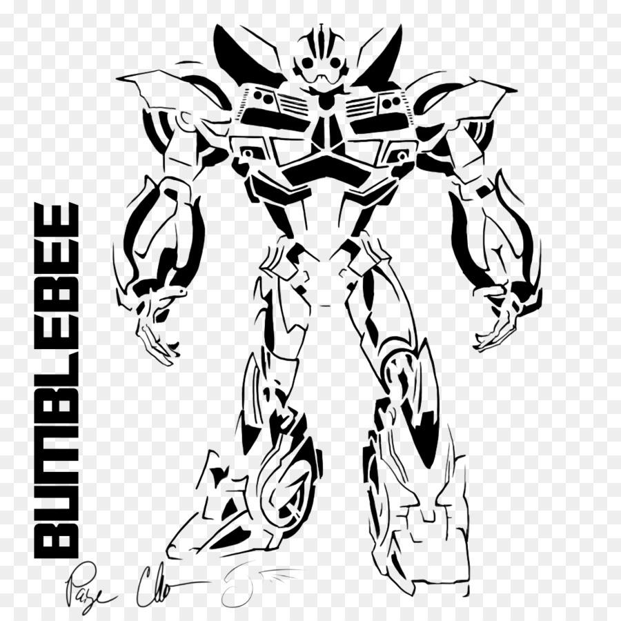 Bumblebee Optimus Prime Libro Para Colorear Imagen Png