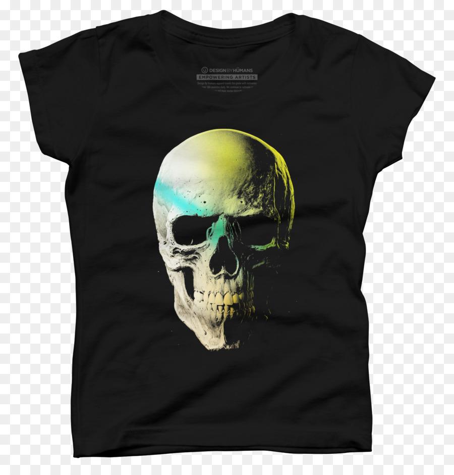 Descarga gratuita de Camiseta, Cráneo, Manga Imágen de Png