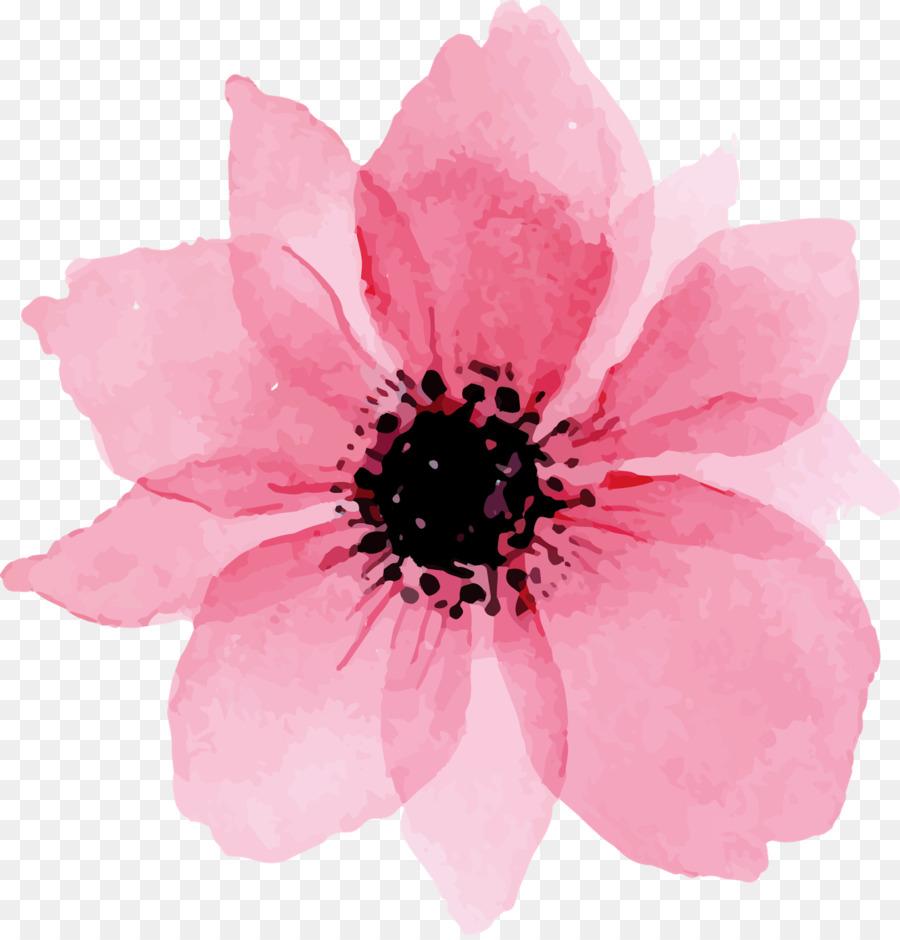 Descarga gratuita de Pintura A La Acuarela, Flor, Acuarela De Flores imágenes PNG