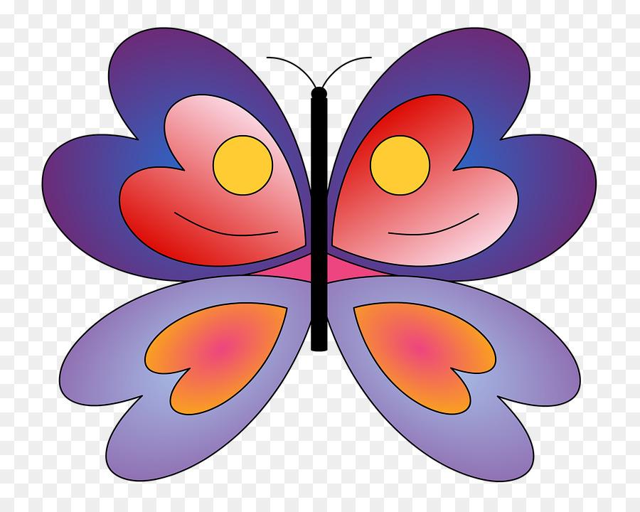 Descarga gratuita de La Mariposa Monarca, Mariposa, Púrpura Imágen de Png