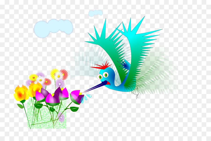 Descarga gratuita de Flor, Beija Flor, Pico Imágen de Png