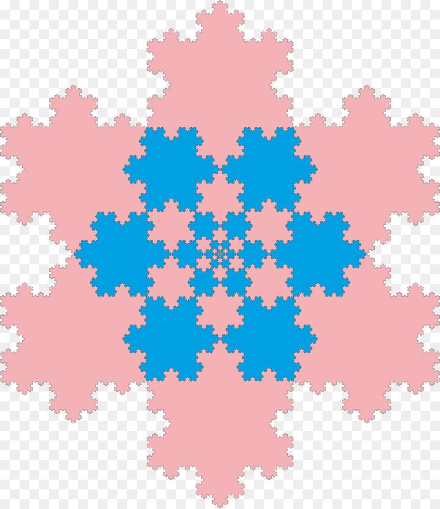 Descarga gratuita de Copo De Nieve De Koch, Fractal, Copo De Nieve Imágen de Png