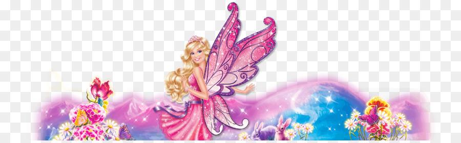 Barbie Fondo De Escritorio Barbie Mariposa Imagen Png