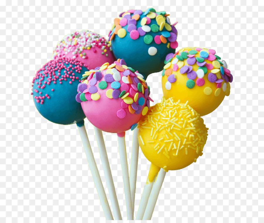 Descarga gratuita de Bolas De Pastel, Cupcake, Lollipop Imágen de Png