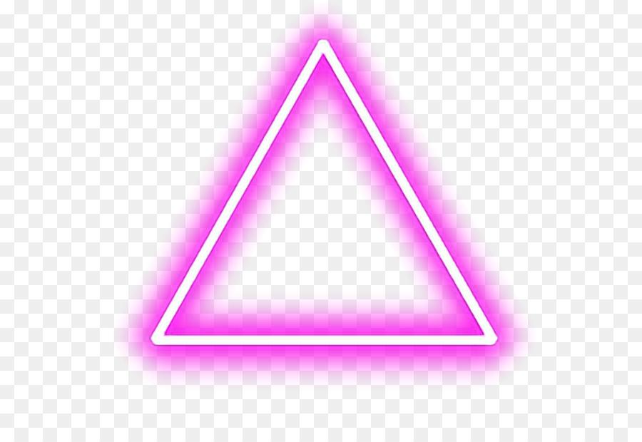 Descarga gratuita de Triángulo, Android, Neon Imágen de Png