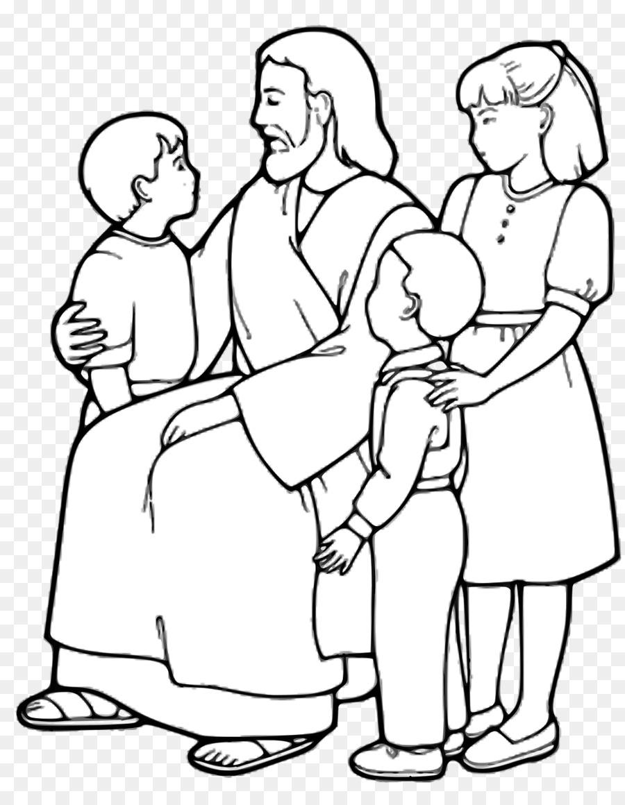 Las Parábolas De Jesús Libro Para Colorear Niño Imagen Png
