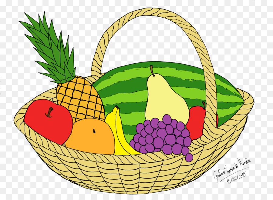 La Fruta Cesta De Fruta Cocina Vegetariana Imagen Png Imagen
