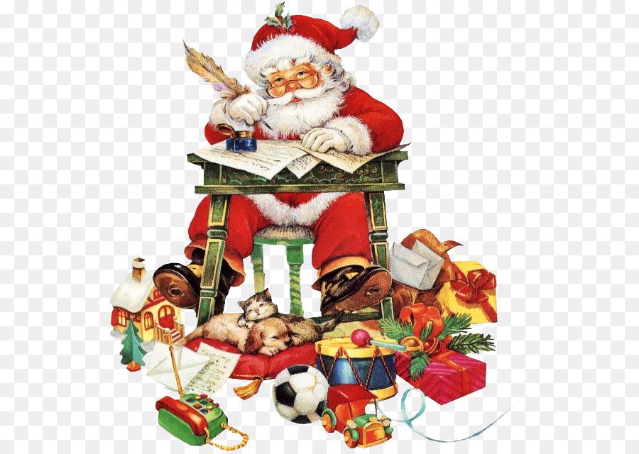 Descarga gratuita de Santa Claus, Santa Claus Village, La Navidad Imágen de Png