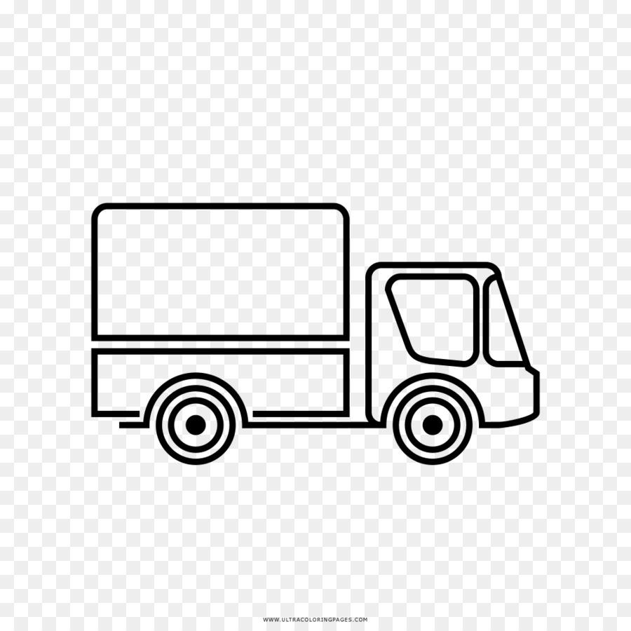 Camión Dibujo Libro Para Colorear Imagen Png Imagen