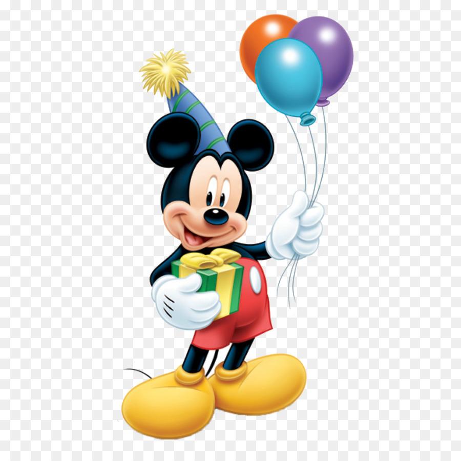 Descarga gratuita de Mickey Mouse, Minnie Mouse, Globo imágenes PNG