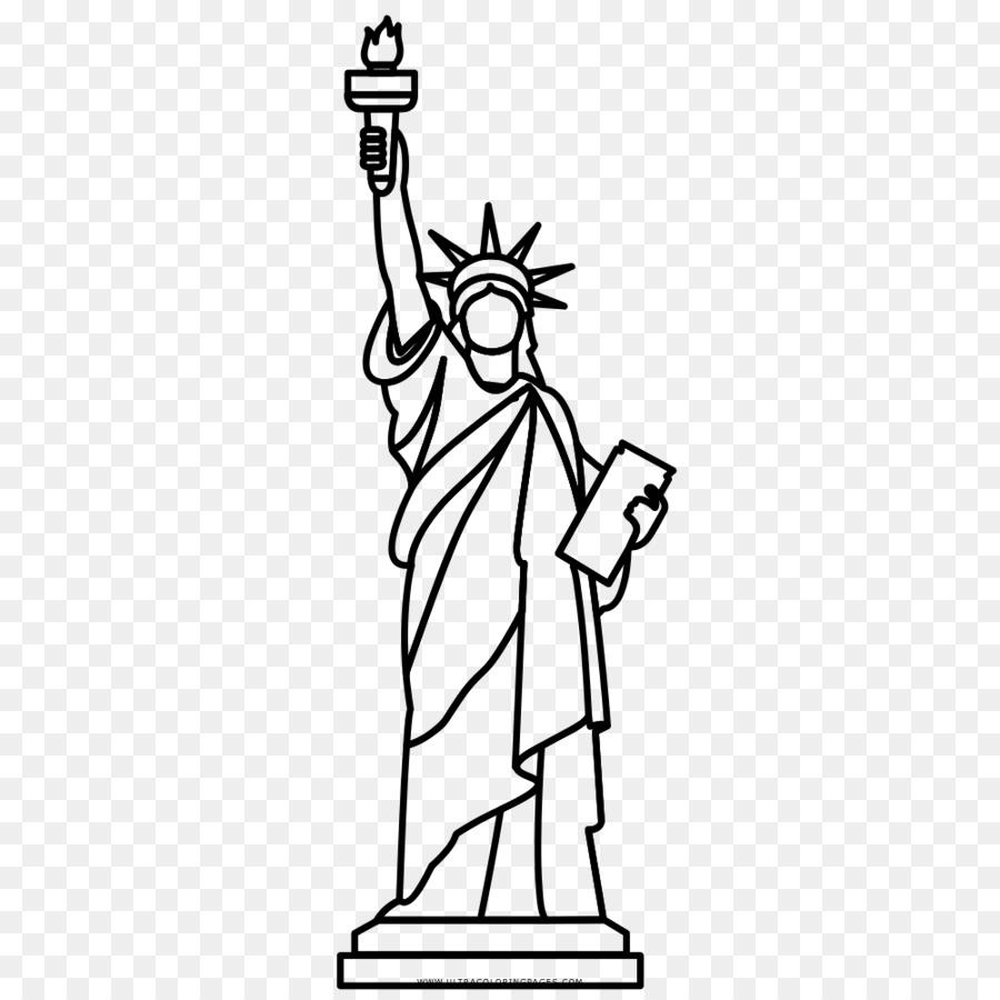 Descarga gratuita de Estatua De La Libertad, Dibujo, Estatua imágenes PNG