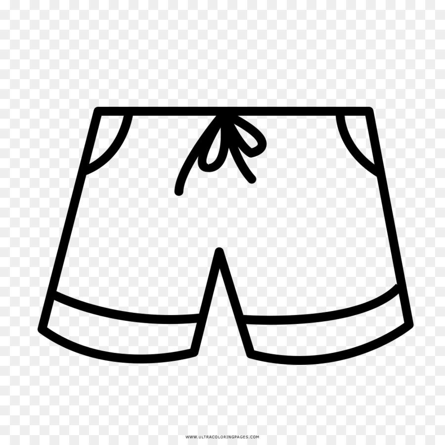 Libro Para Colorear Pantalones Cortos Dibujo Imagen Png Imagen