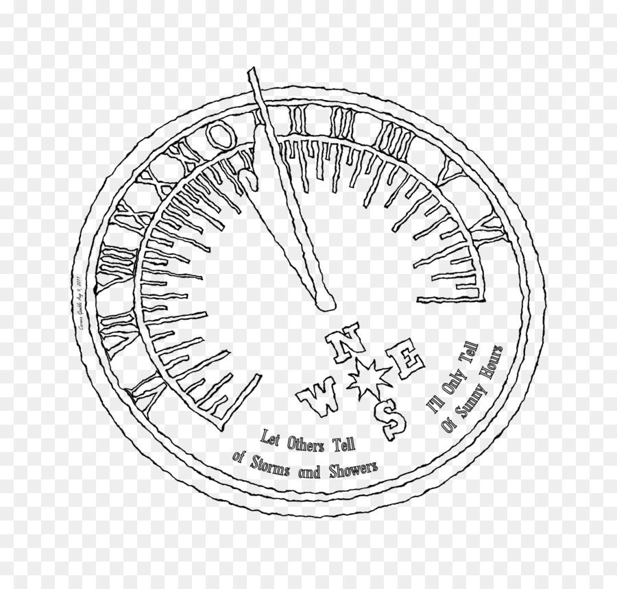 Reloj De Sol Hacer Un Reloj De Sol Dibujo Imagen Png Imagen