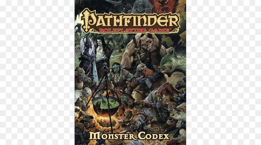 Descarga gratuita de Pathfinder Juego De Rol De Juego, Monstruo Del Codex, Gamemastery Guía Imágen de Png