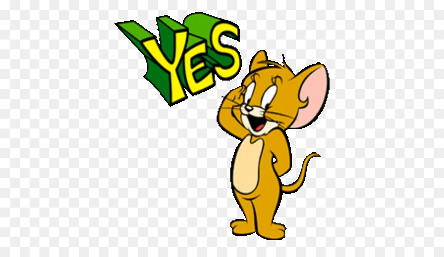 Descarga gratuita de Tom Y Jerry, Etiqueta Engomada De La, Telegrama imágenes PNG