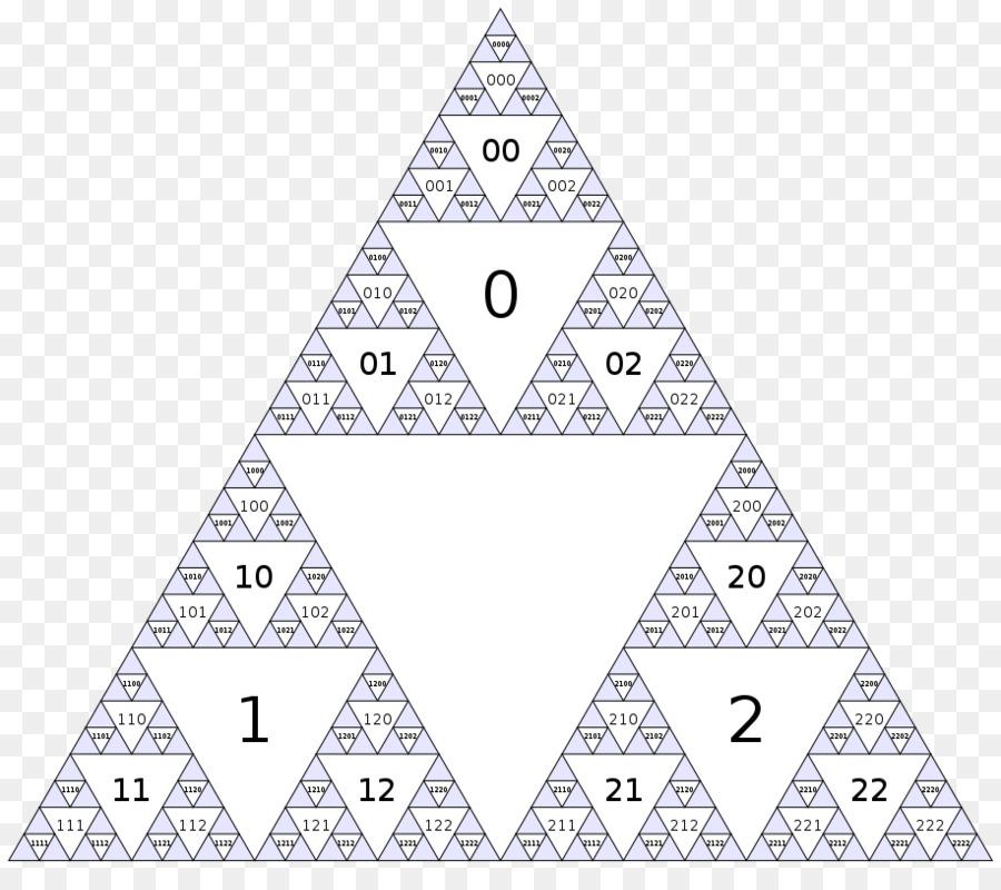 Descarga gratuita de La Geometría Fractal De La Naturaleza, Fractal, Triángulo De Sierpinski Imágen de Png