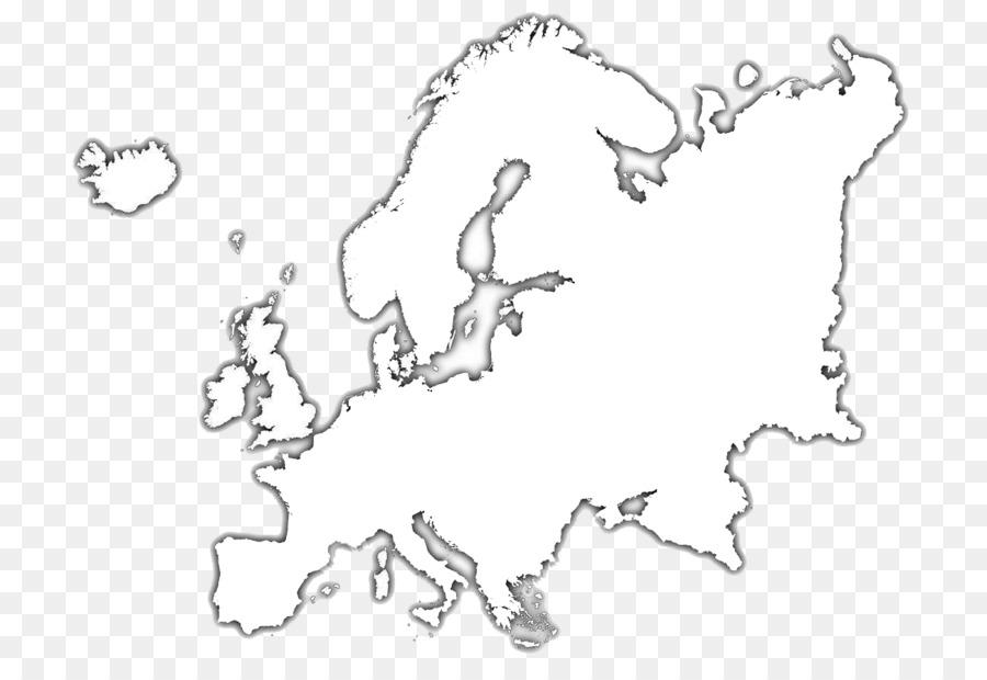 Europa Mapa En Blanco Mapa Imagen Png Imagen Transparente