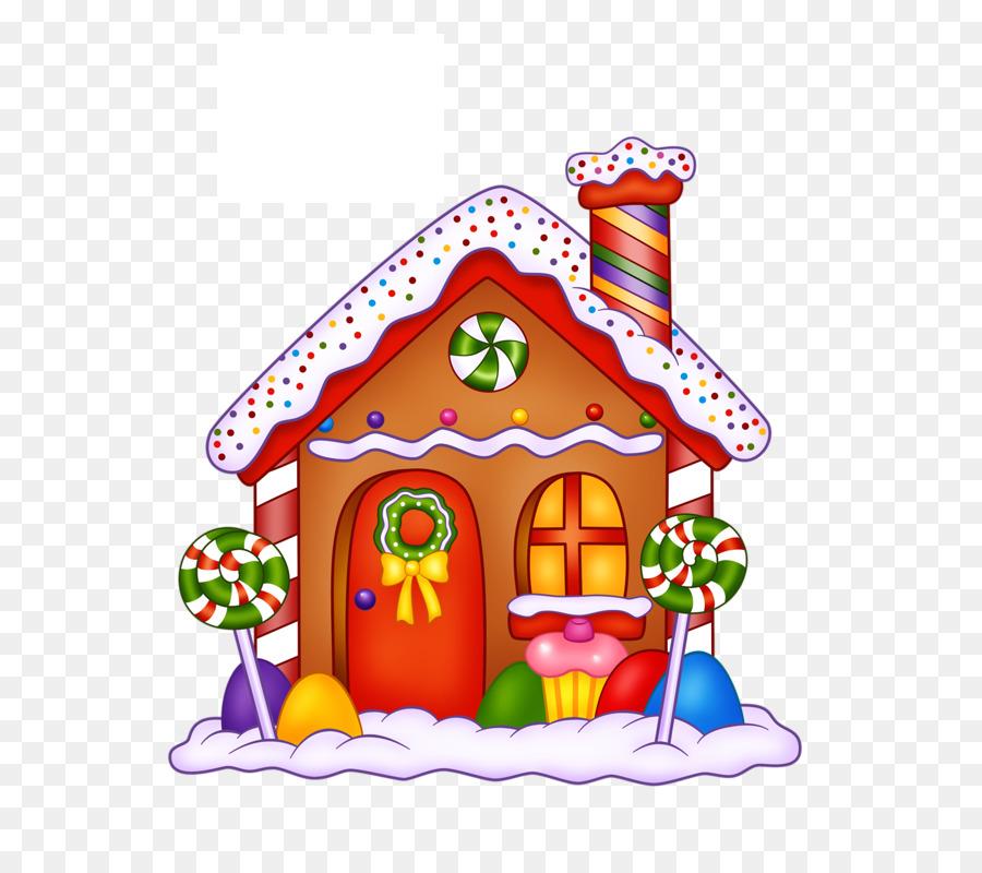 Casa De Pan De Jengibre Lollipop Bonbon imagen png