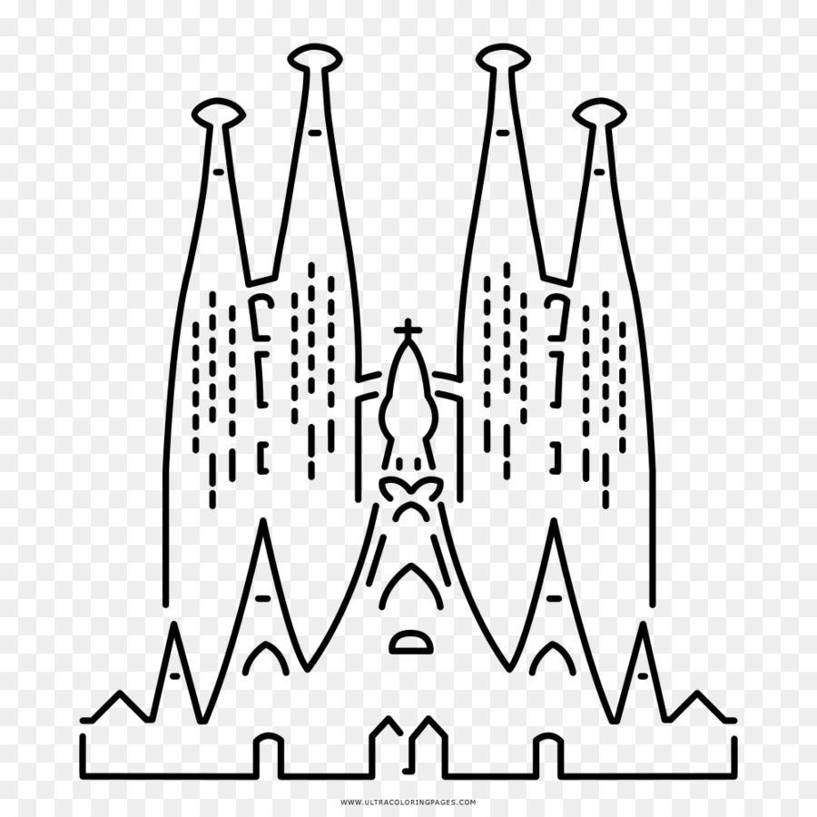 La Sagrada Familia La Casa Milà Dibujo Imagen Png Imagen