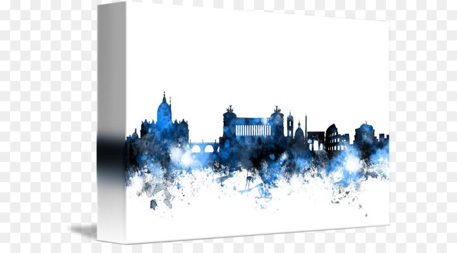 Descarga gratuita de Roma, Skyline, Arte imágenes PNG