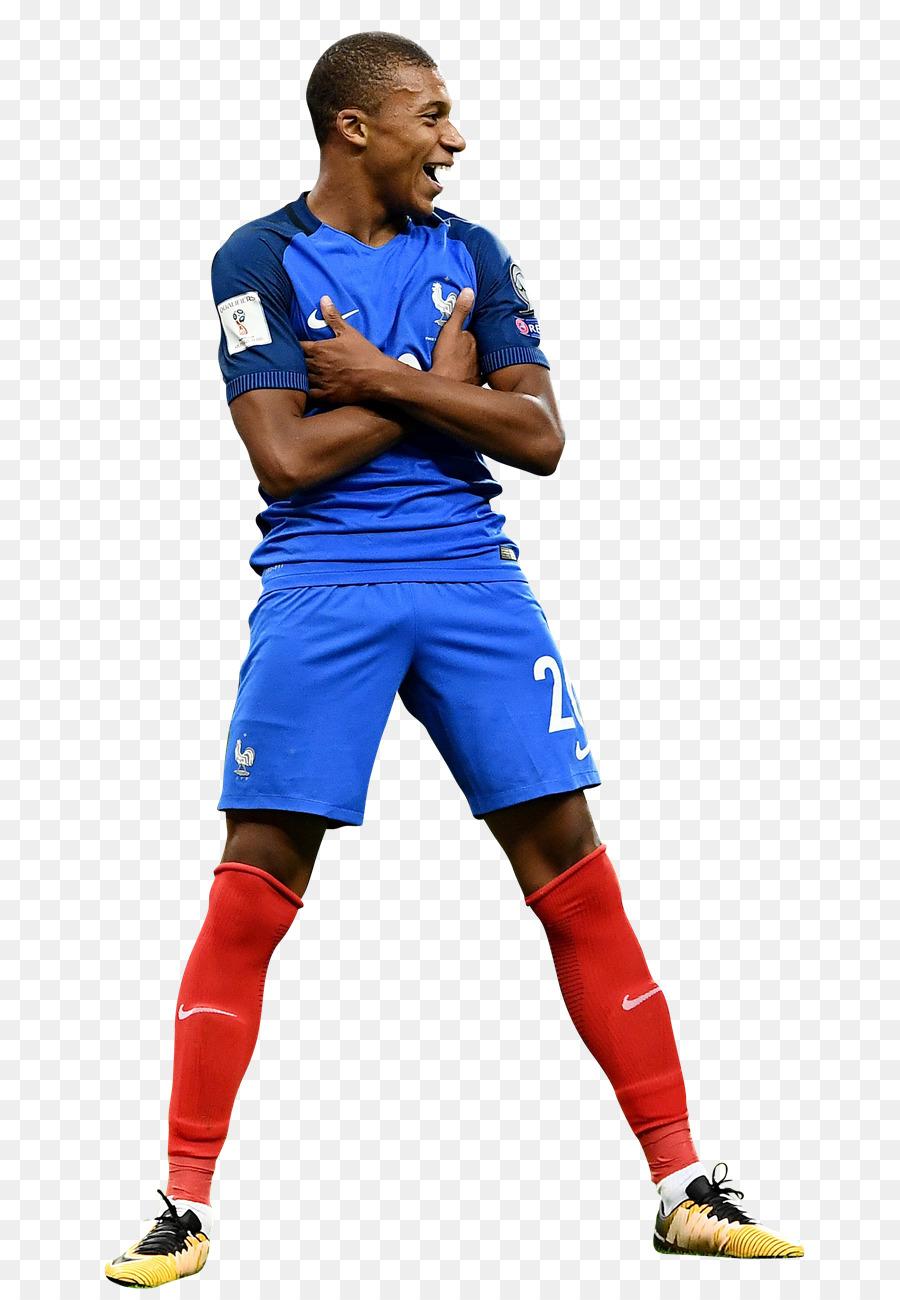 Descarga gratuita de Kylian Mbappé, Equipo Nacional De Fútbol De Francia, Deviantart imágenes PNG