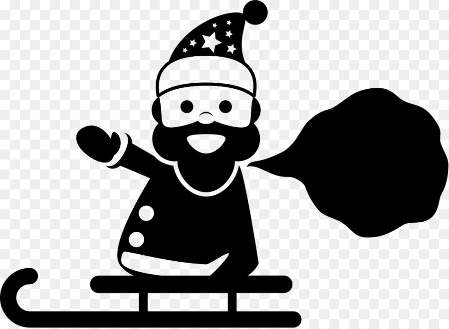 Descarga gratuita de Santa Claus, Reno, Rudolph imágenes PNG