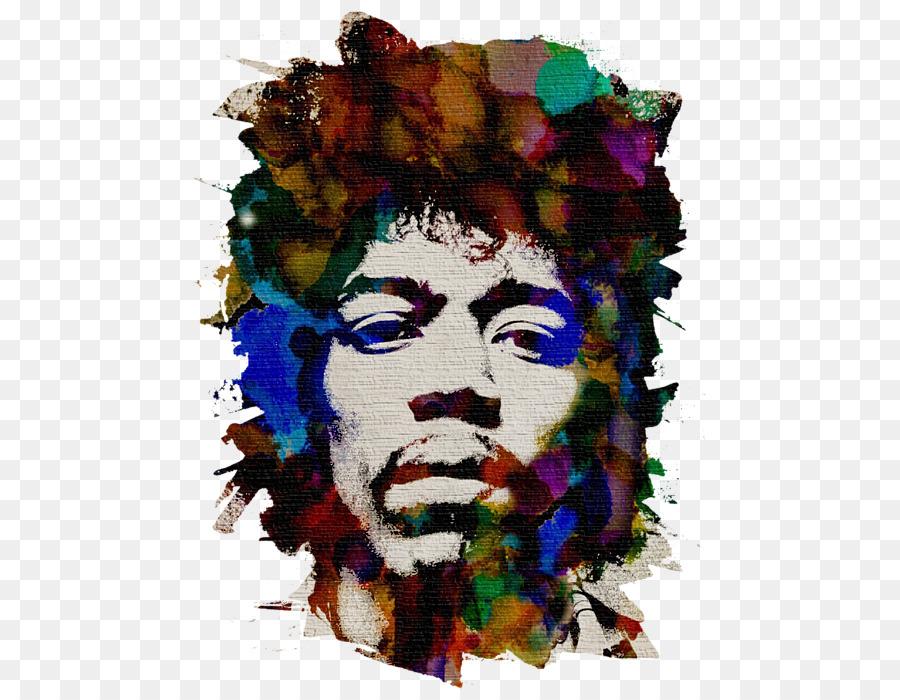 Descarga gratuita de Jimi Hendrix, Camiseta, Arte Imágen de Png