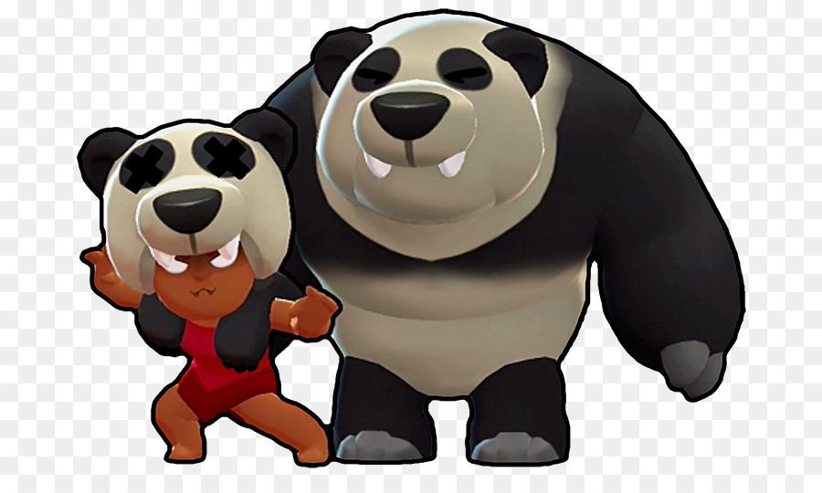 Descarga gratuita de Brawl Estrellas, El Panda Gigante, Oso Imágen de Png