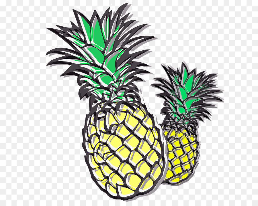 Descarga gratuita de Piña, La Fruta, Crujiente imágenes PNG
