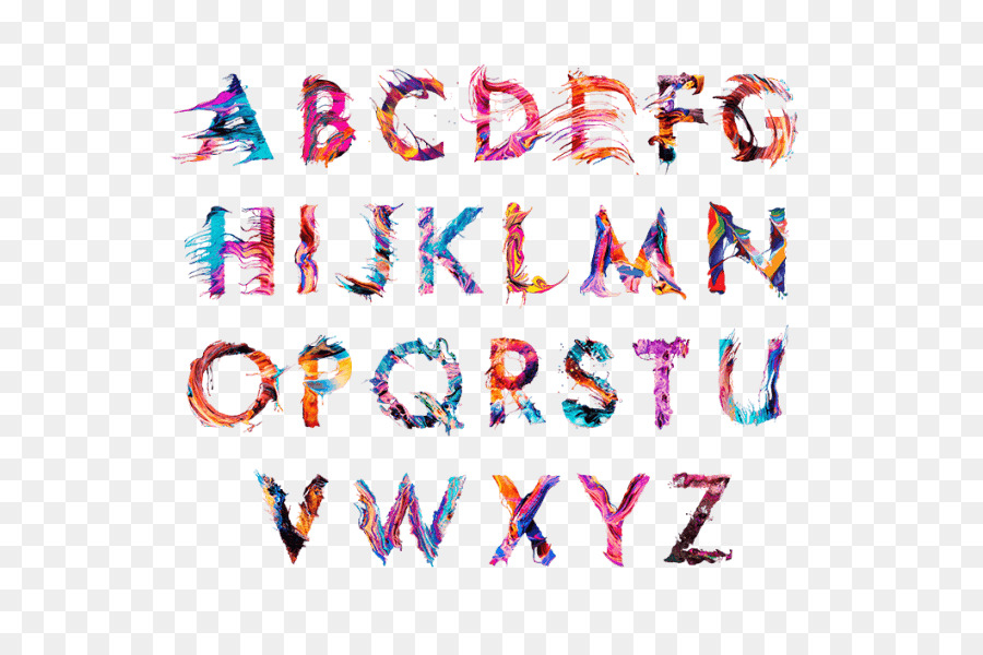 Descarga gratuita de El Tipo De Letra, La Tipografía, La Aberración Cromática imágenes PNG
